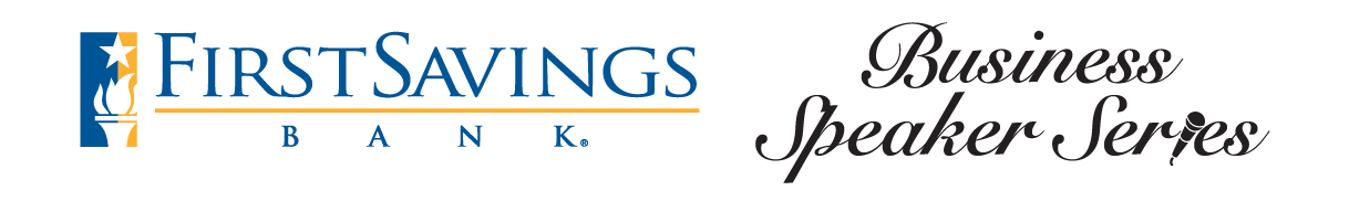 First Savings Bank Speaker Series Logo