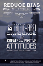 Use People-First Language to Create Positive Attitudes toward People with DIsabilities