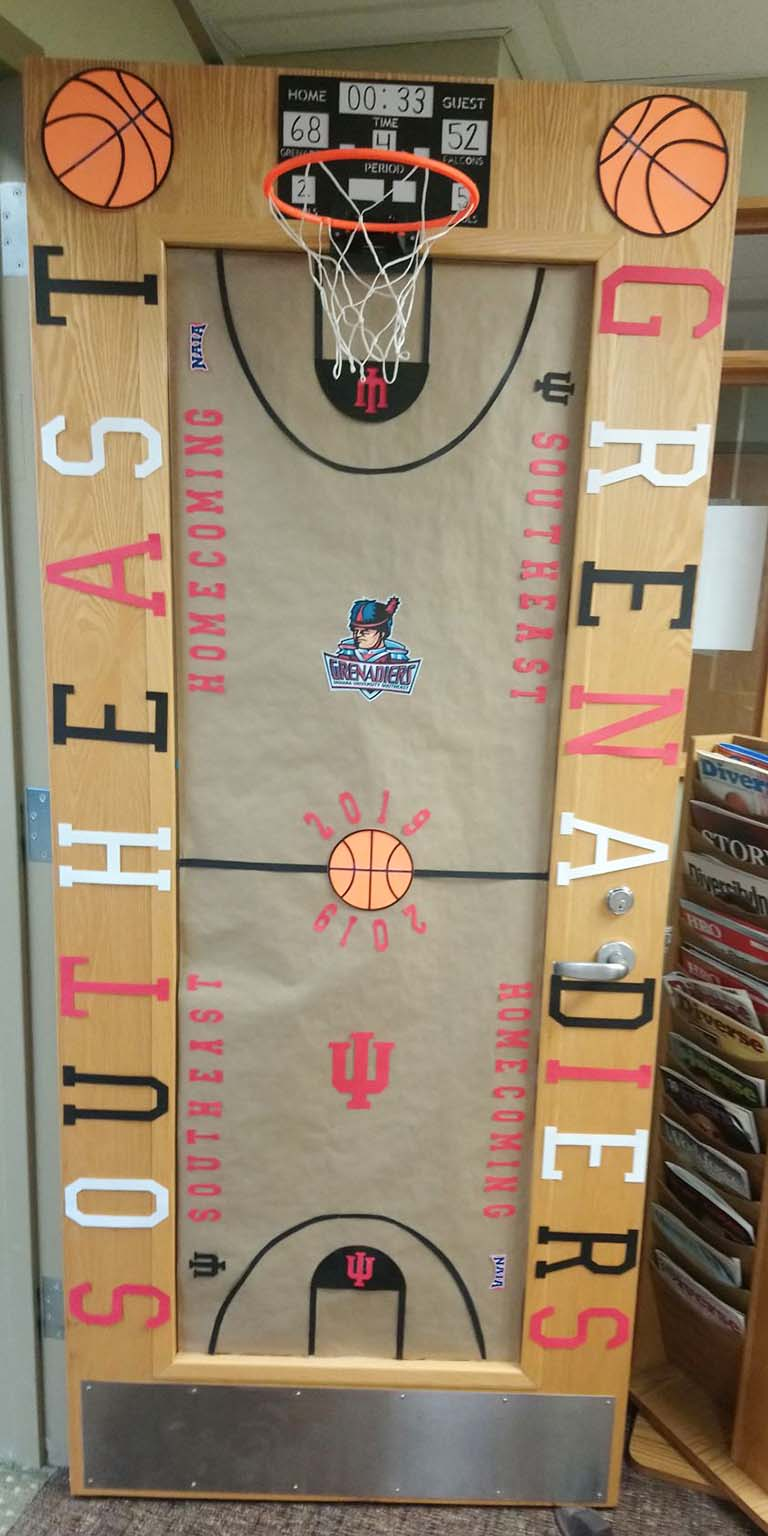Door Decorating Contest Grenadier Cup Competition Homecoming