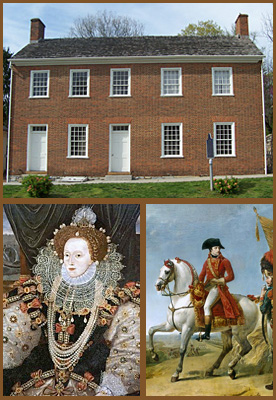 """Governor's Mansion,"" Queen Elizabeth I, and Napoleon Bonaparte"