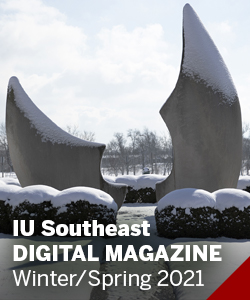 IU Southeast Magazine Cover thumbnail-sized image